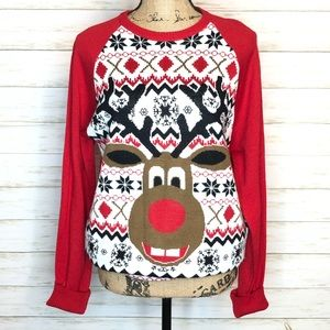 Carbon ugly Christmas sweater
